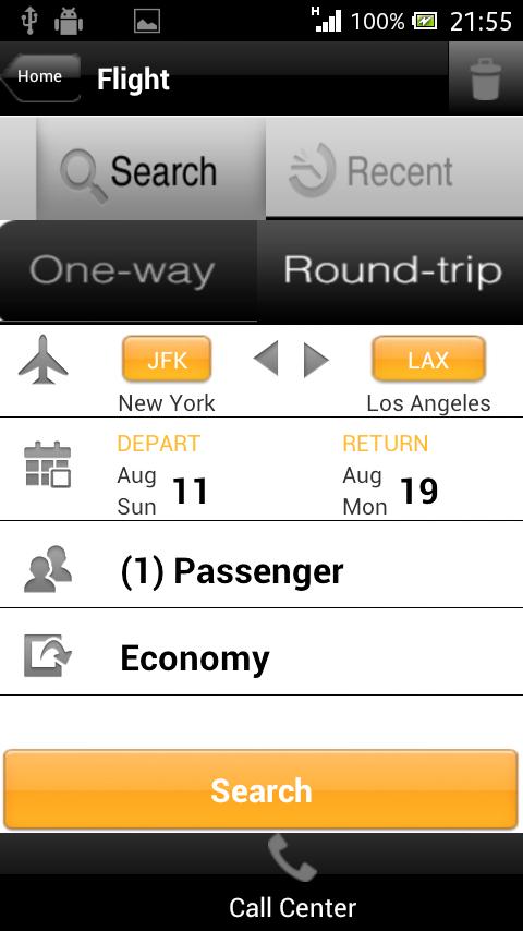 Travelation - Cheap Flights - screenshot