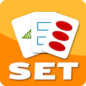 Set Card Game Free icon