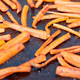 Sweet and Spicy Carrots.