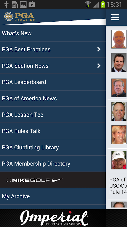 PGA Magazine- screenshot