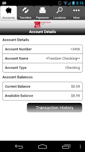 CWB Mobile Banking - screenshot thumbnail