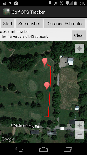 Golf GPS Tracker