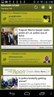 Benjamin Crump: The Root 100 - screenshot thumbnail