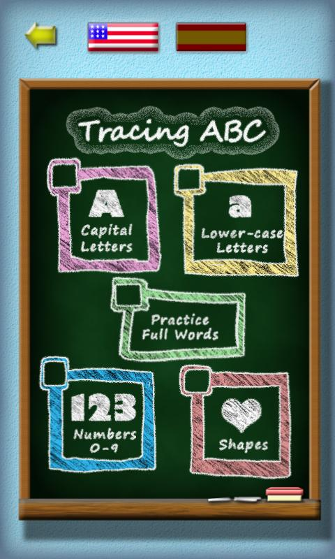 Tracing ABC: Letter Worksheets - screenshot