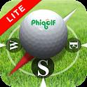 A PhiGolf NAVI LITE logo