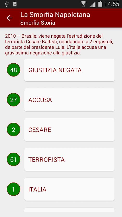 Smorfia Napoletana Gratis- screenshot