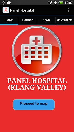 Panel Hospital Klang Valley
