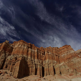 California cool .....Red Rock Canyon Hill, Cantill, California by Tin Tin Abad - Landscapes Mountains & Hills