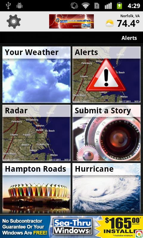 Severe Weather - WVEC Norfolk - screenshot