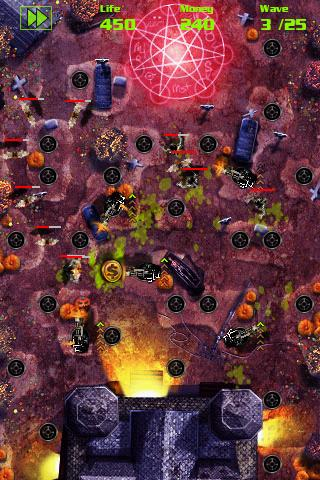 GRave Defense Holidays- screenshot