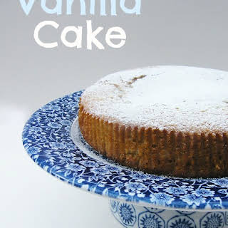 Vanilla Cake No Eggs No Milk Recipes.