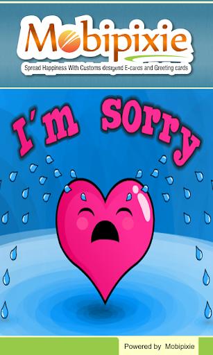 I am Sorry Message eCards