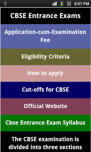 cbse exam guide