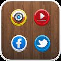 Button icon theme icon