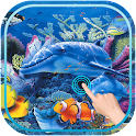 Magic Wave Fish Aquarium icon