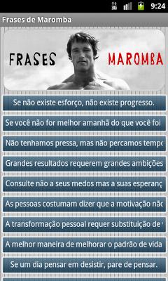 Frases de Maromba - Academia - screenshot