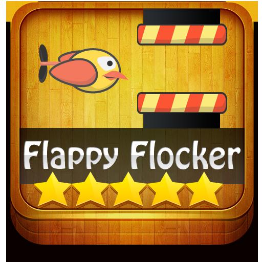 Flappy Flocker LOGO-APP點子