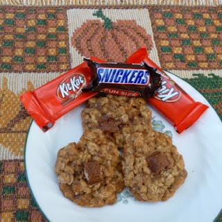Oatmeal Candy Bar Cookies