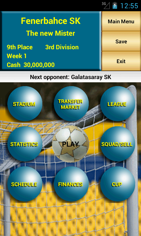 Be the Manager 2014 (Football)- screenshot
