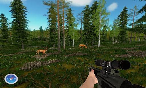 現代射擊獵人鹿