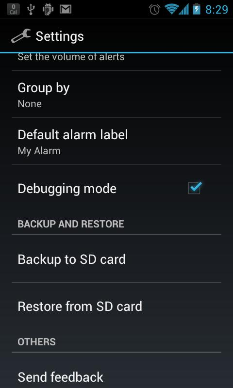 BozaAlarm (OpenAlarm+)- screenshot