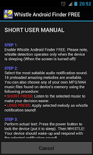 Whistle Android Finder FREE - screenshot thumbnail