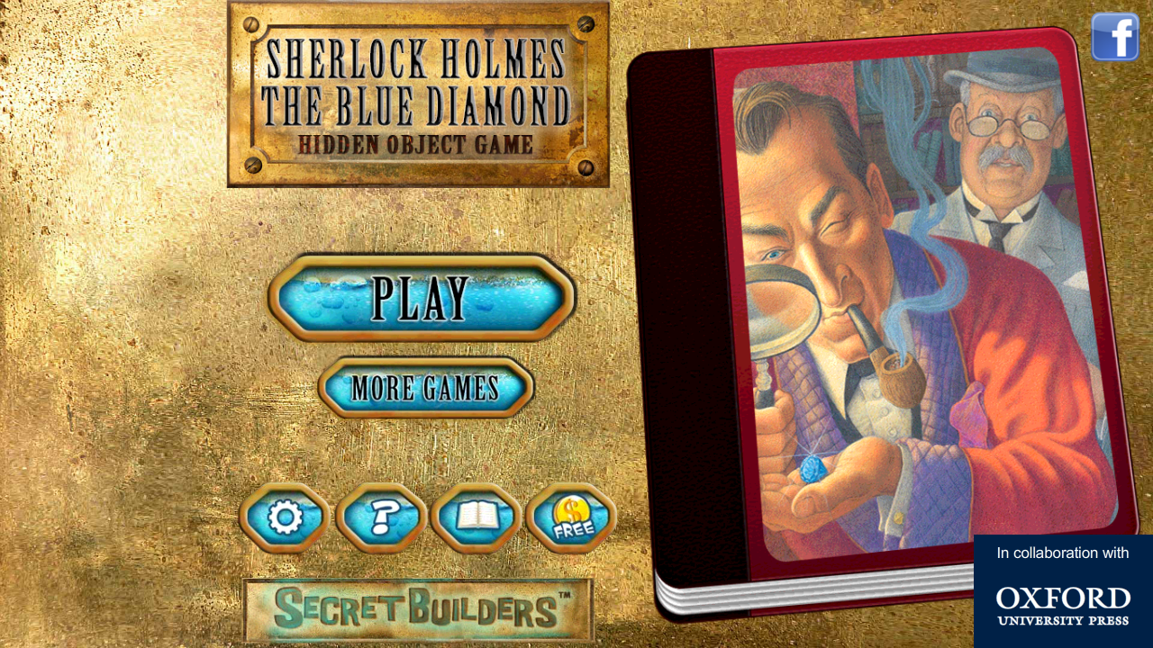 Hidden Object FREE: Sherlock- screenshot