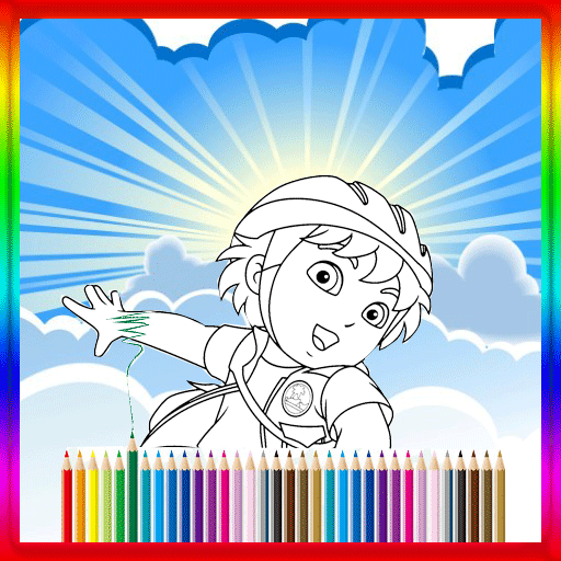 Coloring Book Diego Free