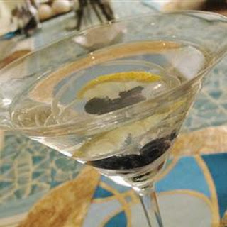 Lemon-Blueberry Martini.