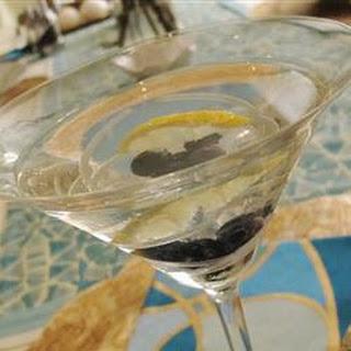 Lemon-Blueberry Martini.