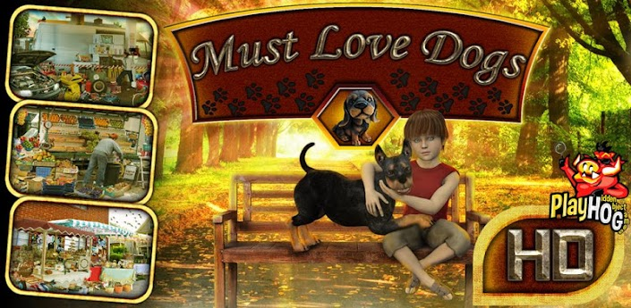Must Love Dogs – Hidden Object v1.0.0 Apk Game Download