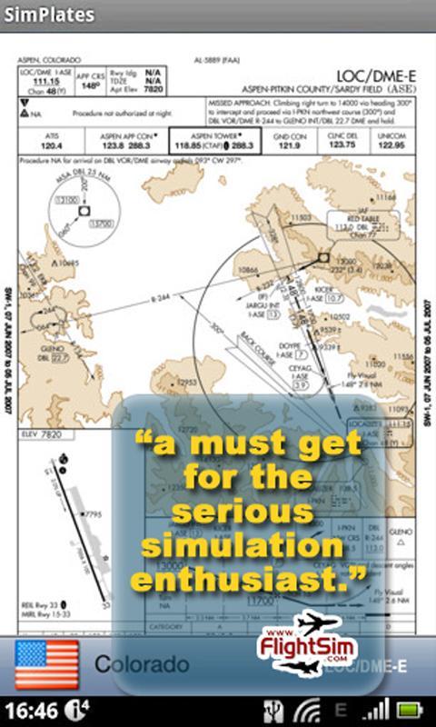 SimPlates for Flight Simulator- screenshot