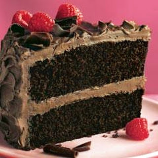 Super-Moist Chocolate Mayo Cake.