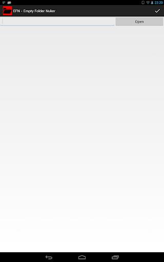 EFN - Empty Folder Nuker
