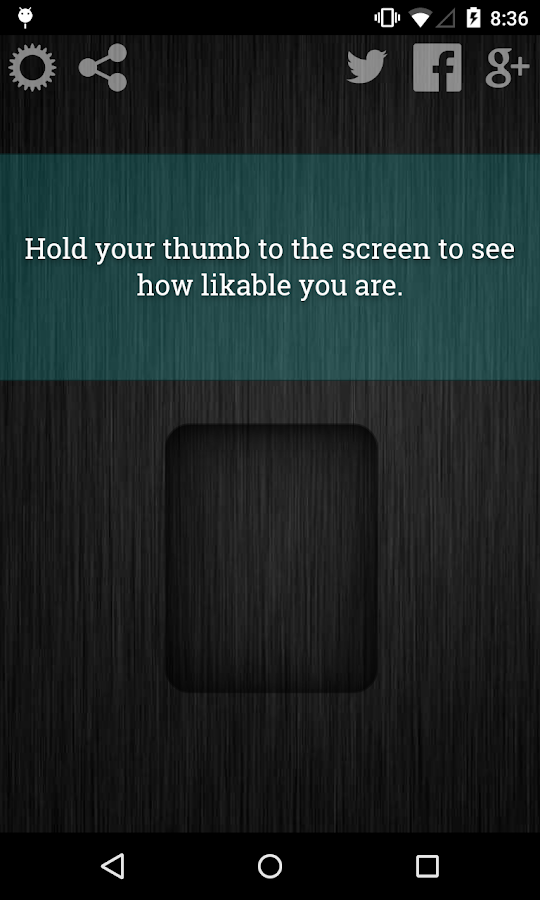 Likability Scanner Prank- screenshot