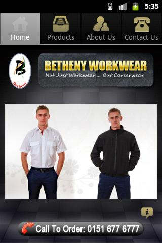 Betheny Workwear- screenshot