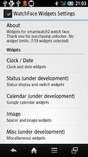 玩免費生產應用APP|下載WatchFace Widgets SmartWatch2 app不用錢|硬是要APP