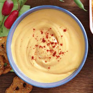 Warm Beer and Cheddar Dip