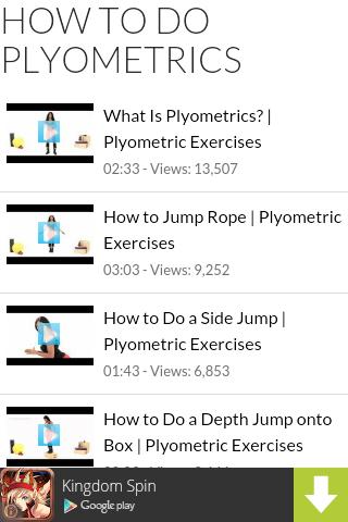 How to Do Plyometrics