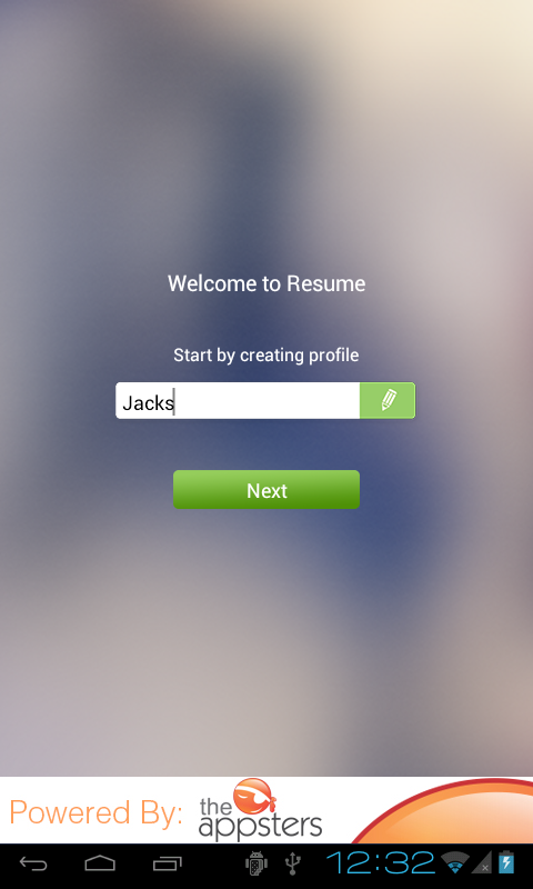 Resume ++ - screenshot