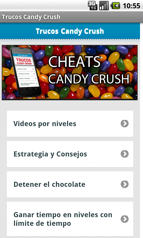 Candy Crush cheats and guide. - screenshot