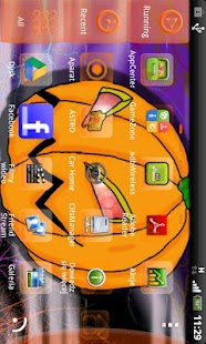 GO Launcher EX Halloween - screenshot thumbnail