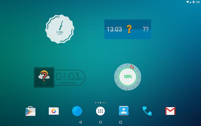 Zooper Widget Pro Android 9