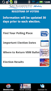 SACVOTE - screenshot thumbnail