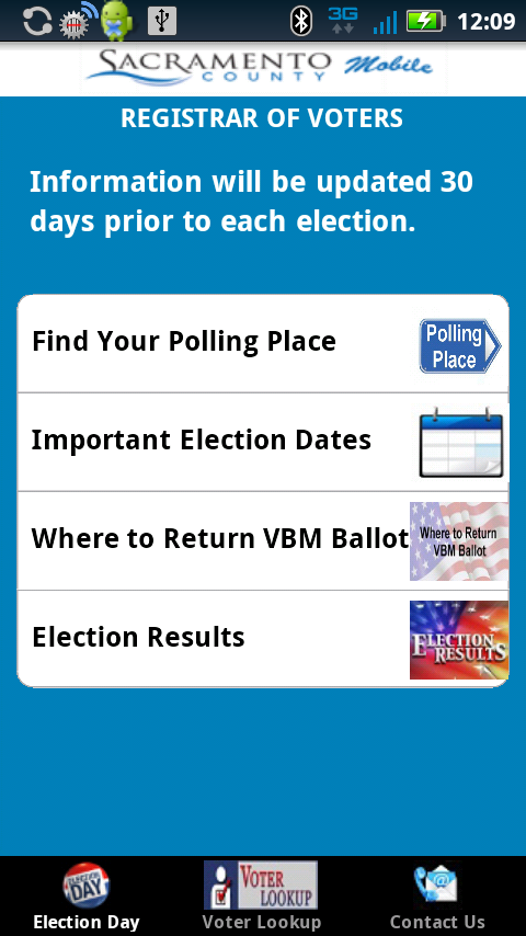 SACVOTE - screenshot