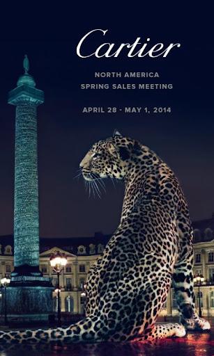 Cartier Meeting Spring 2014