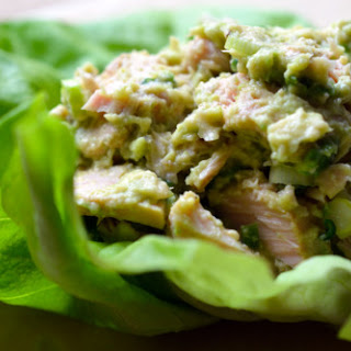 Tuna and Avocado Wraps
