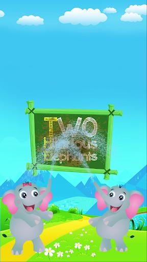 Two Hilarious Elephants 1