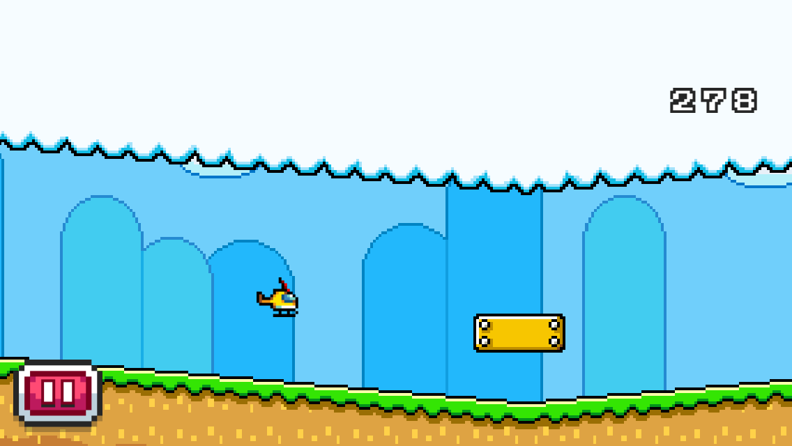 Hopping Copters- screenshot