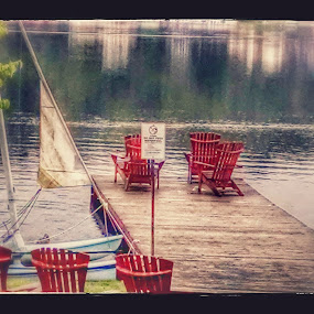 Coffee lakeside by Tracey Chionchio - Novices Only Landscapes ( nature, relax, lake, quiet, ny )